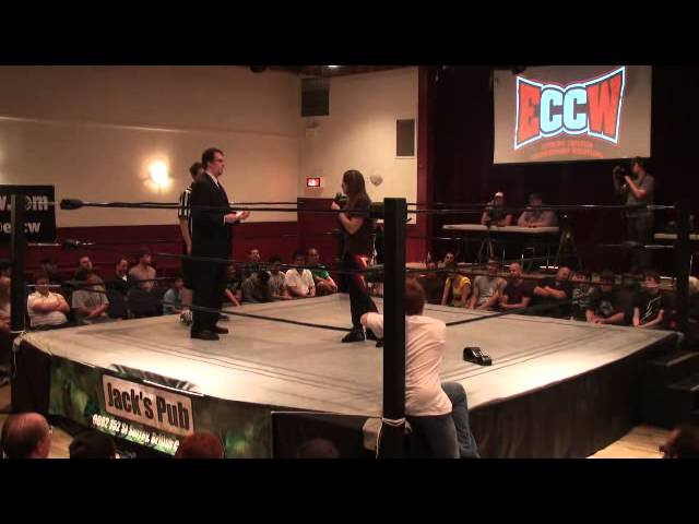 ECCW Nicole Matthews Womens Title Promo July 16 2011