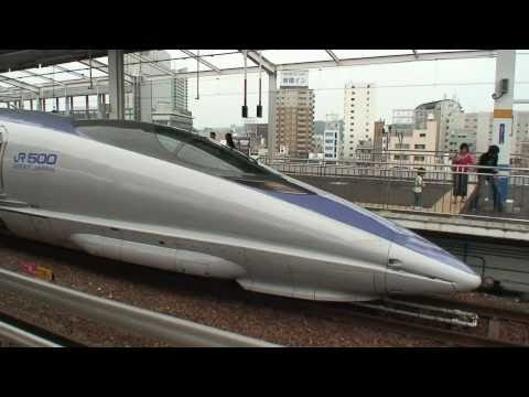 Japan High Speed Rail, Shinkansen, Bullet Train, 500 series NOZOMI http://blog.wildcop.com/ ��� ���路 �� �干线 �车 ��� ���路 �� �幹� �� �幹��������� 500系��� W1�W7�W...