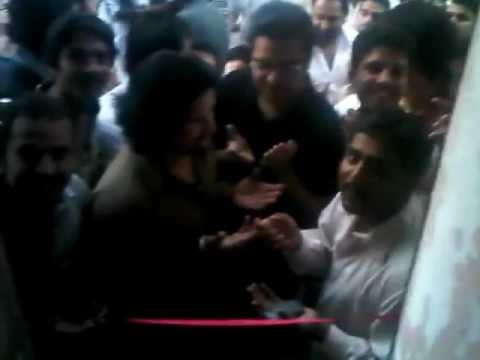 TSF @ Cafe Opening in Sir Syed Chowk Rwp.