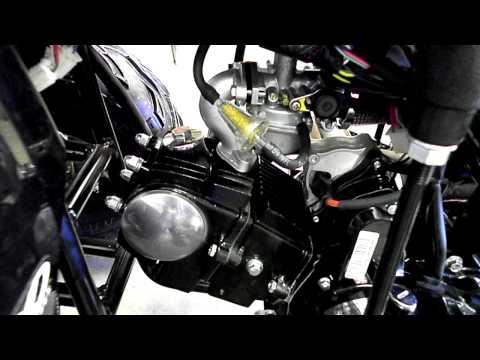 Taotao 125A with Upgrades - Twist Throttle. Carb. Sprocket Kit!!  110cc 125cc
