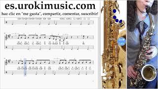 Tutorial de Saxofon (alto) Jonas Brothers - Cool - Cool Clases Notas um-i927
