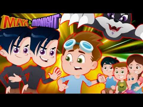 ATTACK OF THE CLONES!! No More Family Fun with Max?     Kids Animation - Max & Midnight Episode 8
