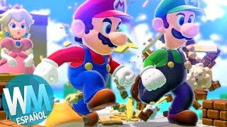 ¡Top 10 Niveles de Mario INCREÍBLEMENTE Difíciles!