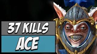 Secret.Ace Meepo with 37 KILLS | Dota Gameplay