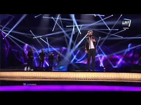 First Semi-Final of the 2013 Eurovision Song Contest: Andrius Pojavis - Something (Lithuania)