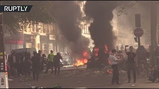 RAW: Paris police charge into Yellow Vest chaos, badly injuring a protester