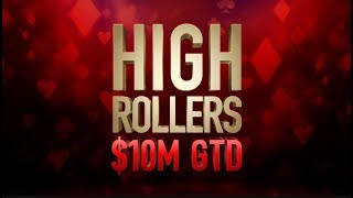 "High Rollers | $2,100 Event #01 with Fedor ""CrownUpGuy"" Holz - PokerStars"
