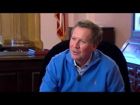 Governor John Kasich talks balanced budget and White House run