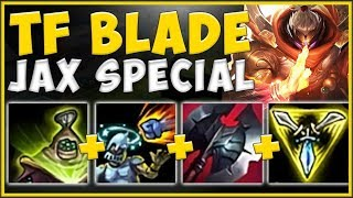 WTF! TFBLADE'S KOREAN SOLO Q STOMP JAX BUILD IS 100% ABSURD! JAX SEASON 10 GAMEPLAY!