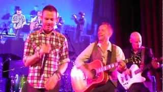 Dominic Monaghan singing Brown Eyed Girl at the One Expected Party with BEECAKE 2/24/13