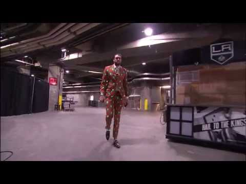 Spencer Hawes Dons Festive Christmas Tree Suit