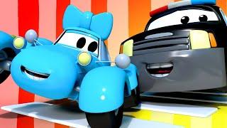 đội xe tuần tra - Dừng lại, nhìn và lắng nghe - Thành phố xe 🚗 những bộ phim hoạt hình về xe tải
