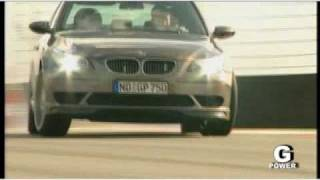 G-POWER HURRICANE BMW M5 flat out 730 PS