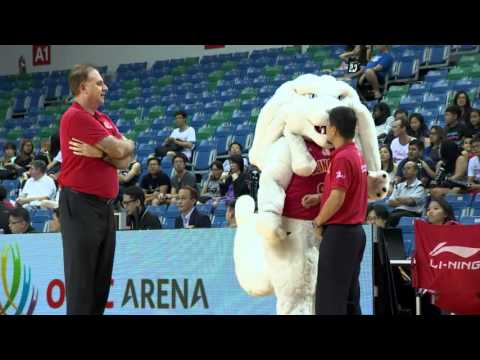 Singapore Slingers vs. Hi-Tech Bangkok City - Full Game - 2015-2016 ASEAN Basketball League