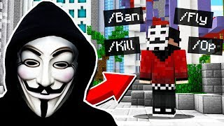 HACKING Into My Friend's Server in Minecraft Pocket Edition!