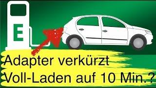 """10-Minuten-Ladung von """"normalen"""" E-Autos mit einem Adapter? Geelys Elektroauto-Limousine für Übersee"""