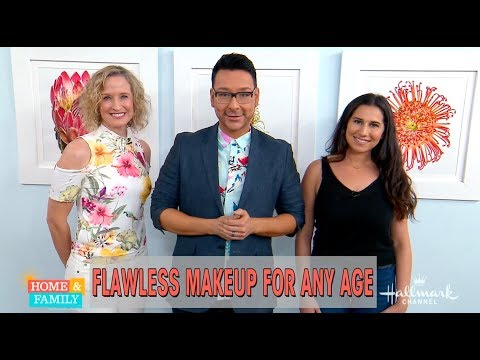 Flawless Makeup for any Age w Mathias Alan on Home and Family TV Show | mathias4amakeup