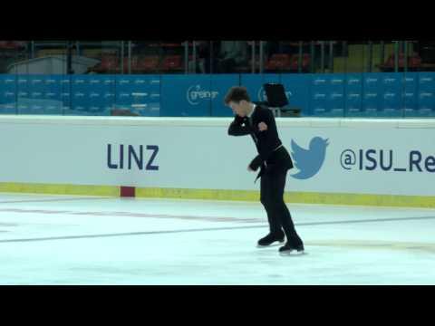 2015 ISU Jr. Grand Prix - Linz Men Free Skate Dmitri ALIEV RUS
