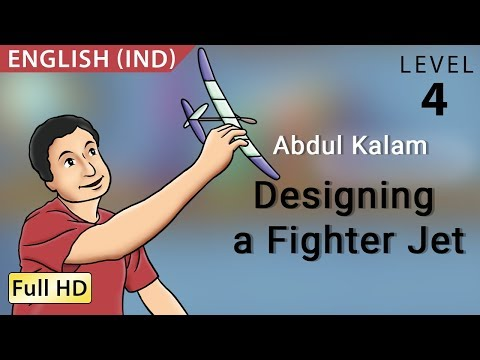 Abdul Kalam, Designing A Fighter Jet: Learn English - Story For Children bookbox video