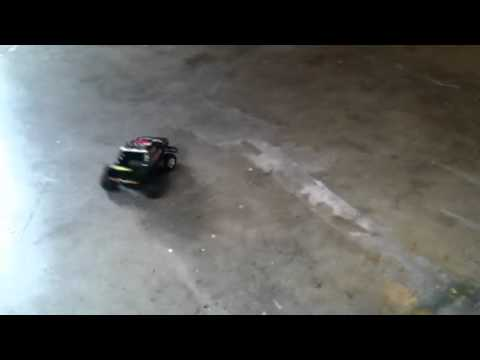 Tyco rc ELIMINATOR 9.6v TURBO IN ACTION