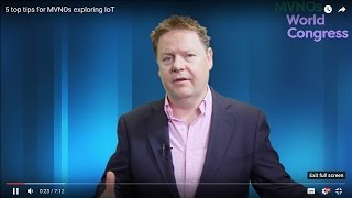 5 top tips for MVNOs exploring IoT