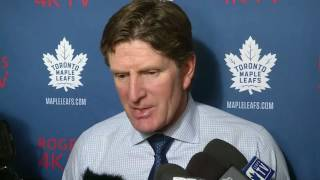 Maple Leafs Post-Game: Mike Babcock - January 31, 2017