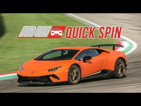2018 Lamborghini Huracan Performante | Quick Spin