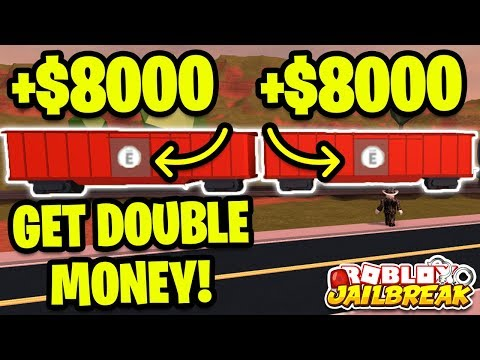 GET RICH FROM TRAINS! Roblox Jailbreak NEW TRAIN UPDATE! *GET DOUBLE MONEY!*