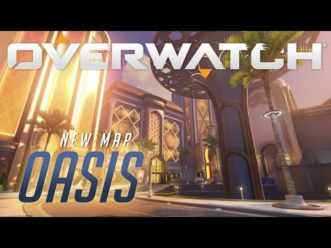 [NOW AVAILABLE] Oasis | New Map Preview | Overwatch