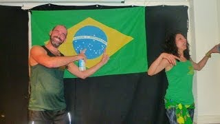 Club Azucar Samba & Capoeira Dance Fitness - Brasilian World Cup Party 2014