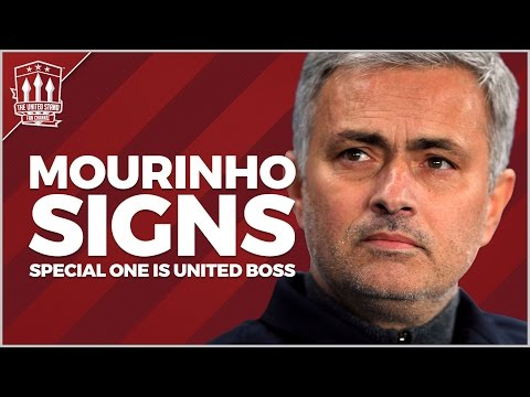 Jose Mourinho appointed Manchester United Manager