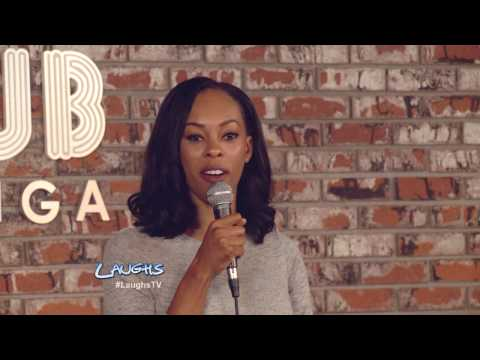 Daphnique Springs Stand-up: Black Porn video