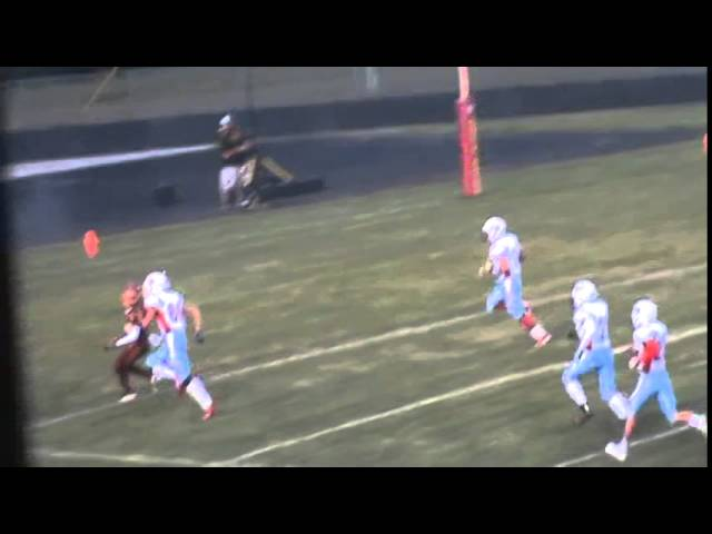 9-5-14 - Kyle Rosenbrock scores from 58 yards out (Brush 6, Weld Central 0)