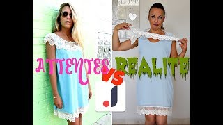 ATTENTES VS REALITE :  Haul JOOM/robes chinoises