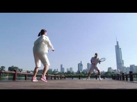 Li Na launches Road to Wimbledon in Nanjing, China
