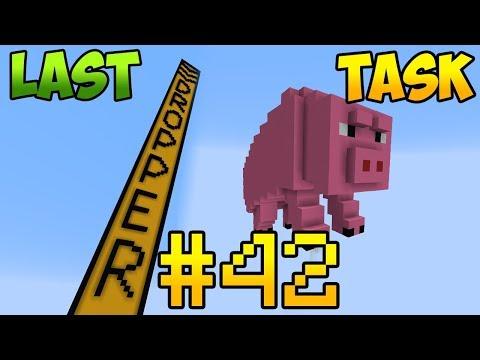 Minecraft LastTask 2 #42 - ИГРА НА ПИЦЦУ, ВСЕ МИНИ ИГРЫ ЛАСТТАСКА