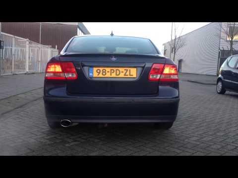 Saab 1,8 T Sportuitlaat op maat By KCE Sportuitlaat