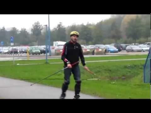 Hans gaat als een speer! :-) Video