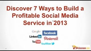 Social Media Marketing 2013 Webinar