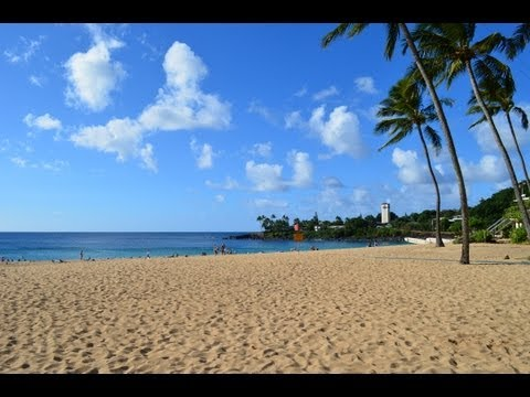 Oahu Hawaii: Waikiki, North Shore, Shopping (Day 1)