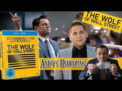 The Wolf of Wall Street - Steelbook Limited Edition Blu-ray unboxing