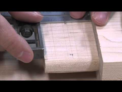 Drawbored Mortise & Tenon Joint
