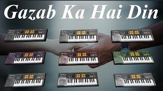 Gazab Ka Hai Din | Dil Juunglee | Instrumental Cover | Ashwin Kolhe | Himanshu Katara #39