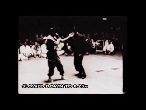 Bruce Lee - Fastest Kick (Slowed down to 0.25x) Image 1