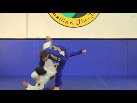 Self Defense: Striking defense to Judo throw options  www.JiuJitsuPedia.com Image 1