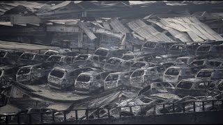RAW: Apocalyptic scenes in China after massive Tianjin blasts