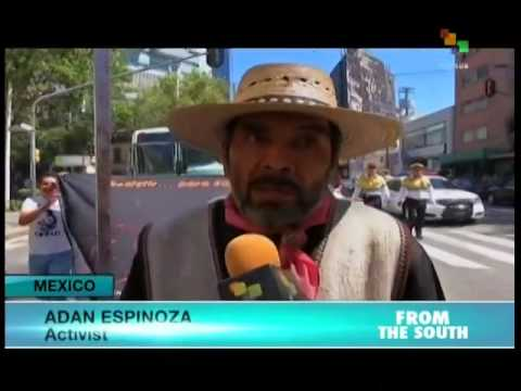 Peasant farmers demand cancellation of proposed Mexico City airport