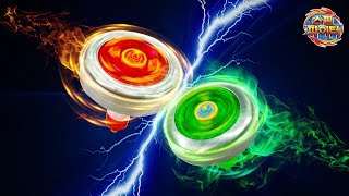 Top spinning Game SpinFighter Battle Arena Change EnergyTop PowerUpGrade