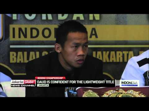 Daud Yordan Confident In The Boxing World Championship