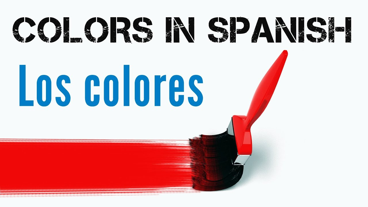 Colors in spanish